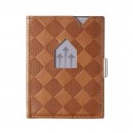 Carteira de couro gravada Exentri RFID Leather